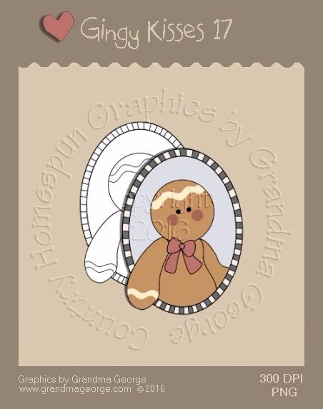 Gingy Kisses Single Country Graphic 17