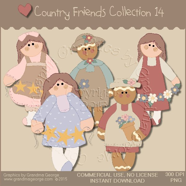 Country Friends Graphics Collection Vol. 14