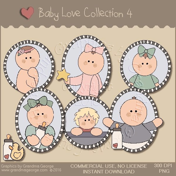 Baby Love Country Graphics Collection Vol. 4