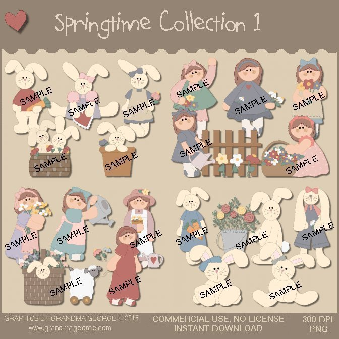 Springtime Graphics Collection Vol. 1