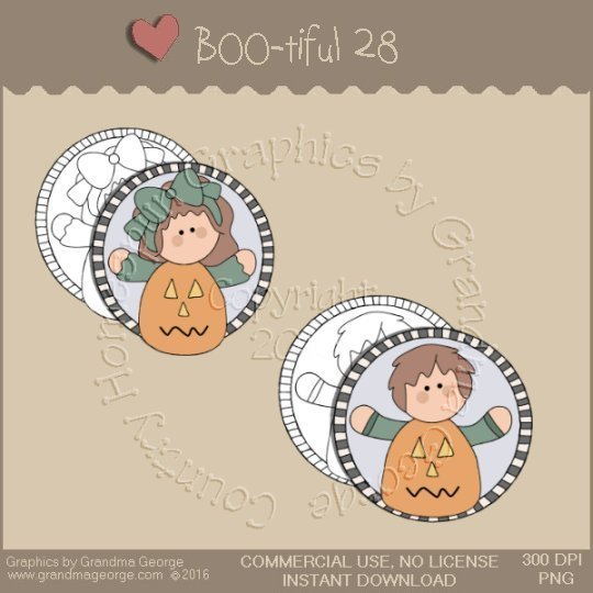 BOO-tiful - Halloween Single Country Graphic 28