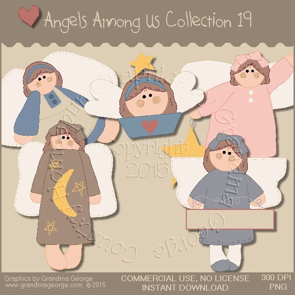 Angels Among Us Graphics Collection Vol. 19