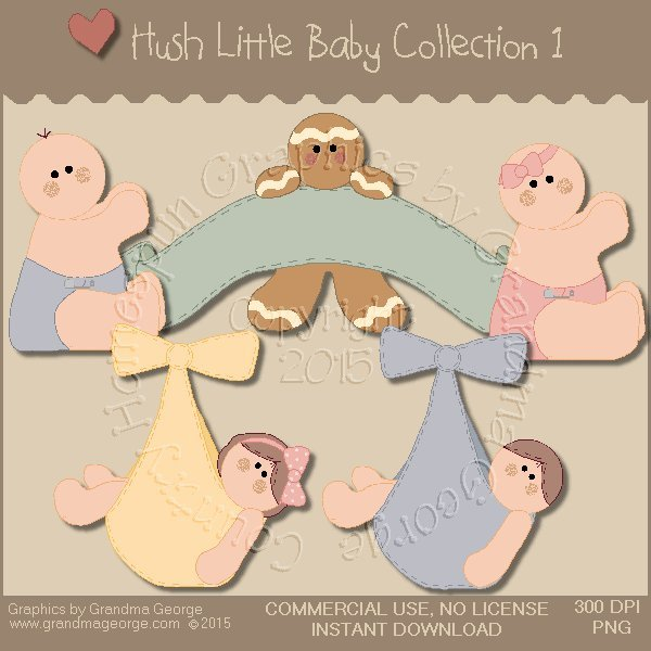 Hush Little Baby Graphics Collection Vol. 1