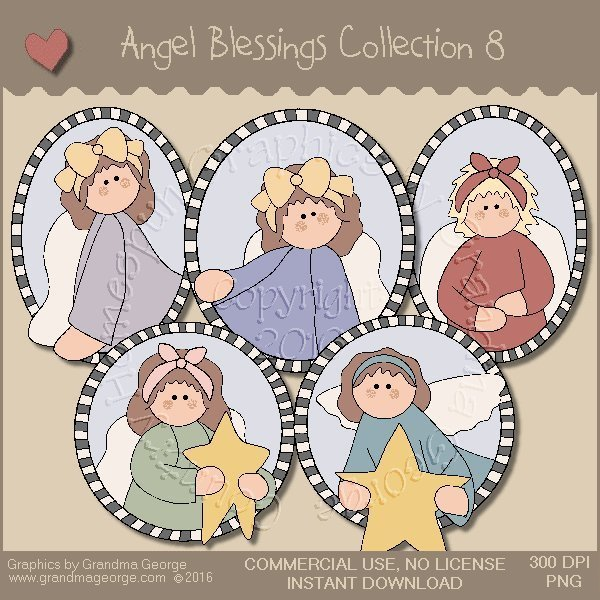 Angel Blessings Country Graphics Collection Vol. 8