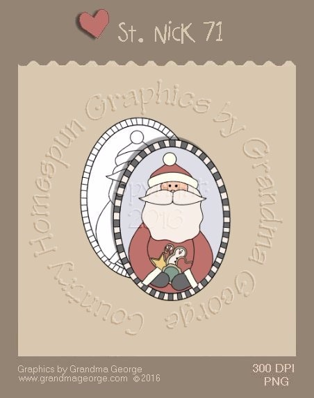 St. Nick Single Country Graphic 71
