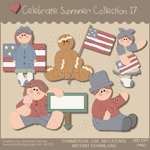 Celebrate Summer Country Graphics Collection Vol. 17