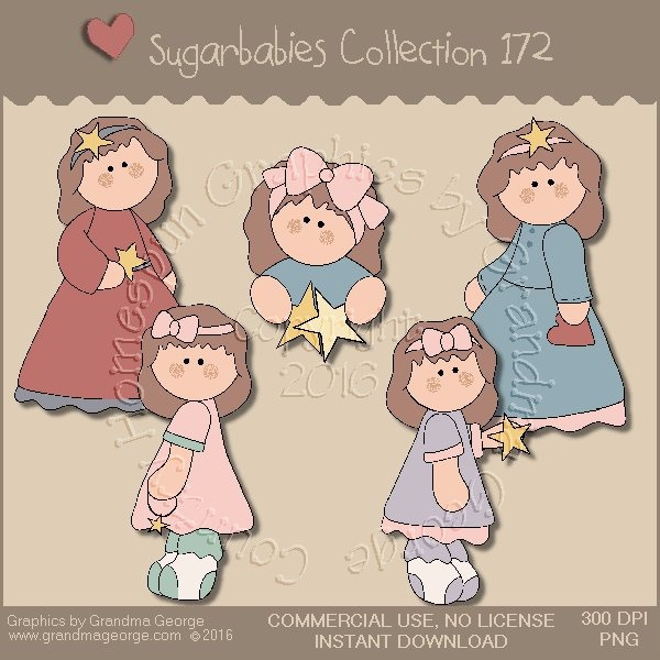 Sugarbabies Country Graphics Collection Vol. 172