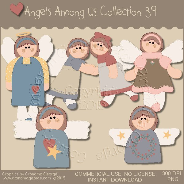 Angels Among Us Graphics Collection Vol. 39