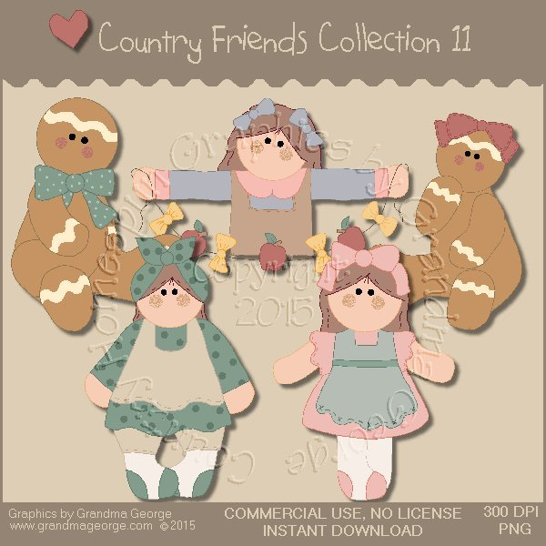 Country Friends Graphics Collection Vol. 11