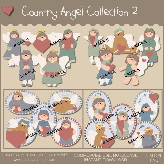 Country Angel Graphics Collection Vol. 2