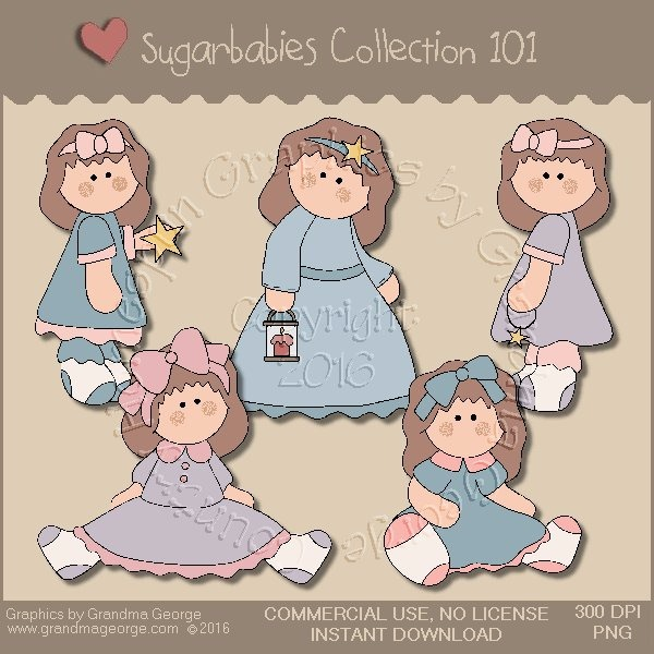 Sugarbabies Country Graphics Collection Vol. 101