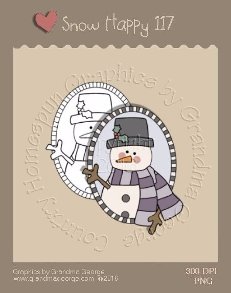 Snow Happy Single Country Graphic 117