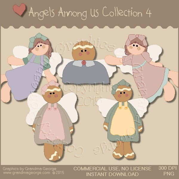 Angels Among Us Graphics Collection Vol. 4