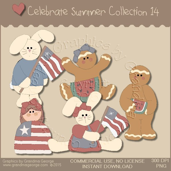 Celebrate Summer Country Graphics Collection Vol. 14