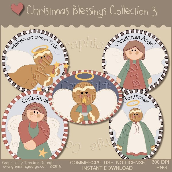 Christmas Blessings Graphics Collection Vol. 3