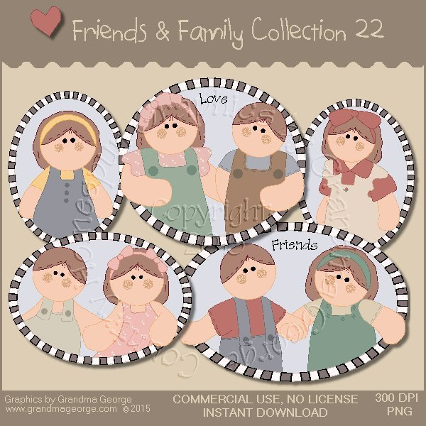 Friends & Family Graphics Collection Vol. 22