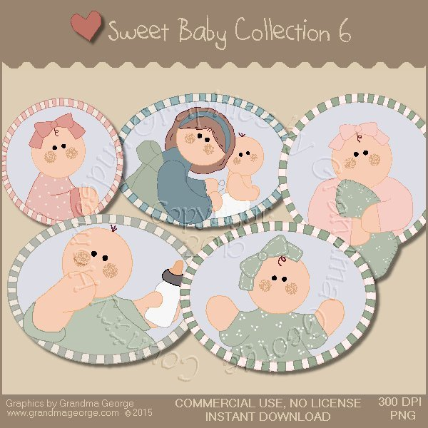 Sweet Baby Graphics Collection Vol. 6