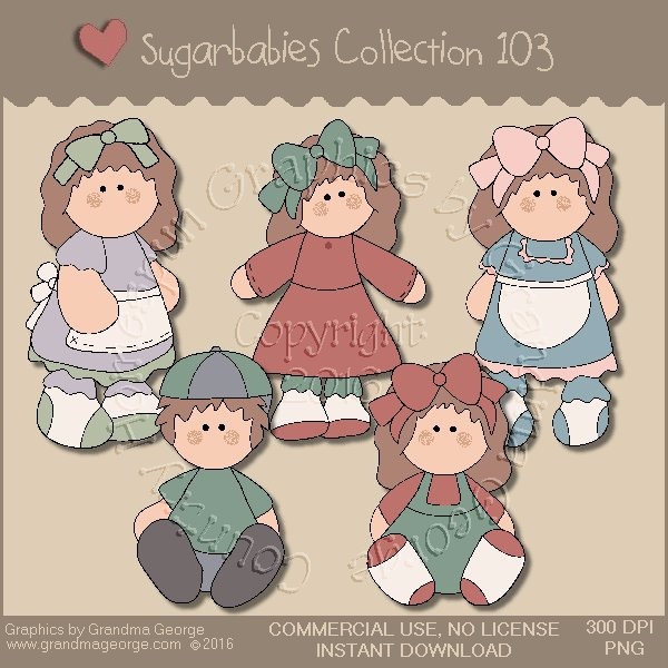 Sugarbabies Country Graphics Collection Vol. 103