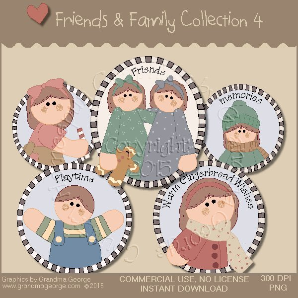 Friends & Family Graphics Collection Vol. 4