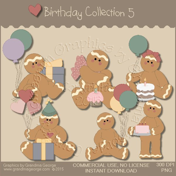 Birthday Graphics Collection Vol. 5
