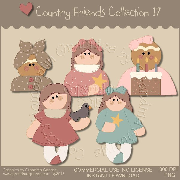Country Friends Graphics Collection Vol. 17