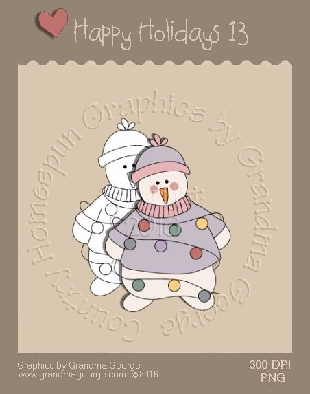 Happy Holidays Christmas Single Country Graphic 13