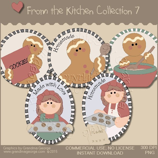 From the Kitchen Graphics Collection Vol. 7