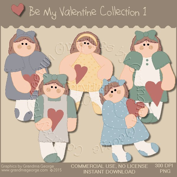 Be My Valentine Graphics Collection Vol. 1
