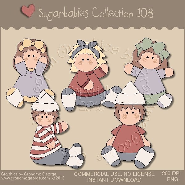 Sugarbabies Country Graphics Collection Vol. 108