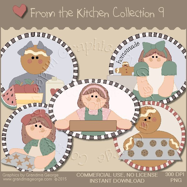 From the Kitchen Graphics Collection Vol. 9