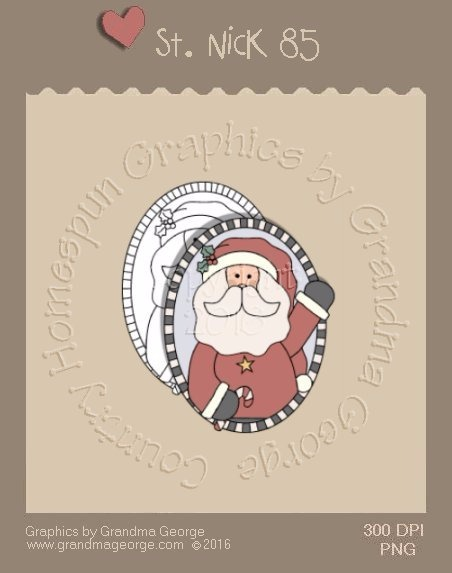 St. Nick Single Country Graphic 85