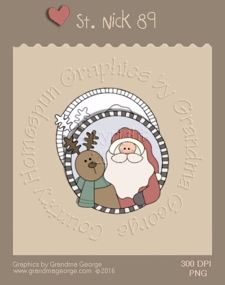 St. Nick Single Country Graphic 89