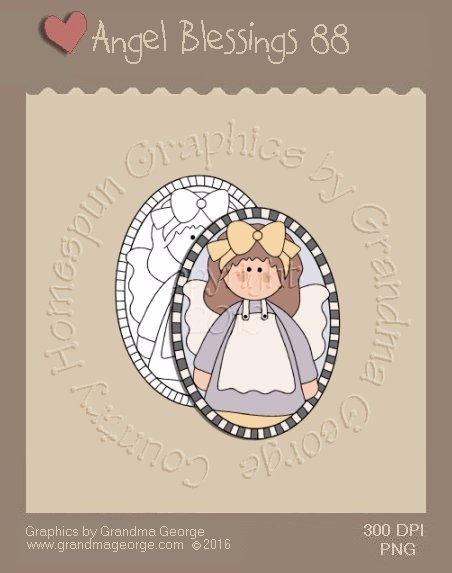 Angel Blessings Single Country Graphic 88