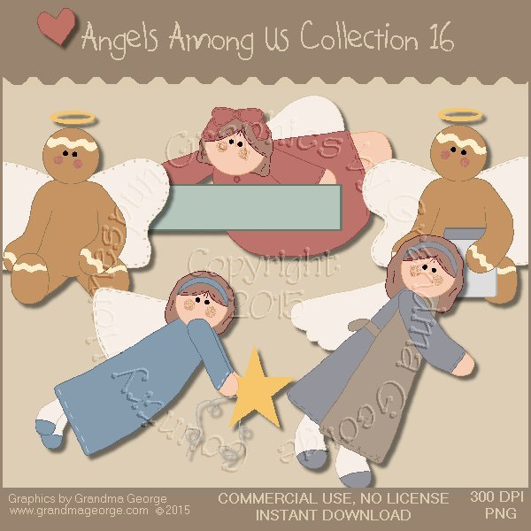 Angels Among Us Graphics Collection Vol. 16