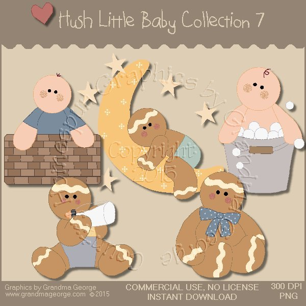 Hush Little Baby Graphics Collection Vol. 7