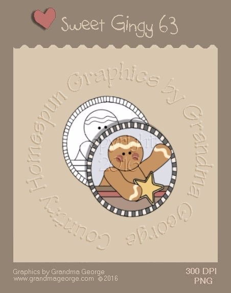 Sweet Gingy Single Country Graphic 63