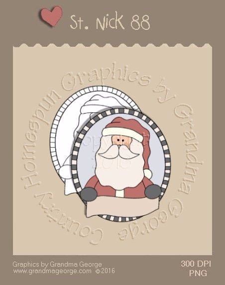 St. Nick Single Country Graphic 88