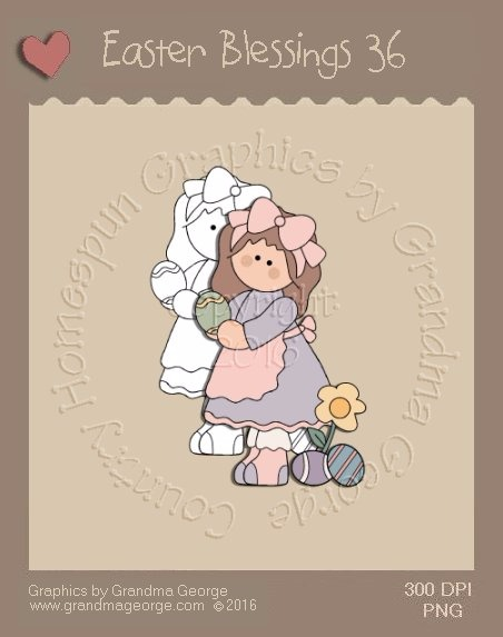 Easter Blessings Single Country Graphic 36
