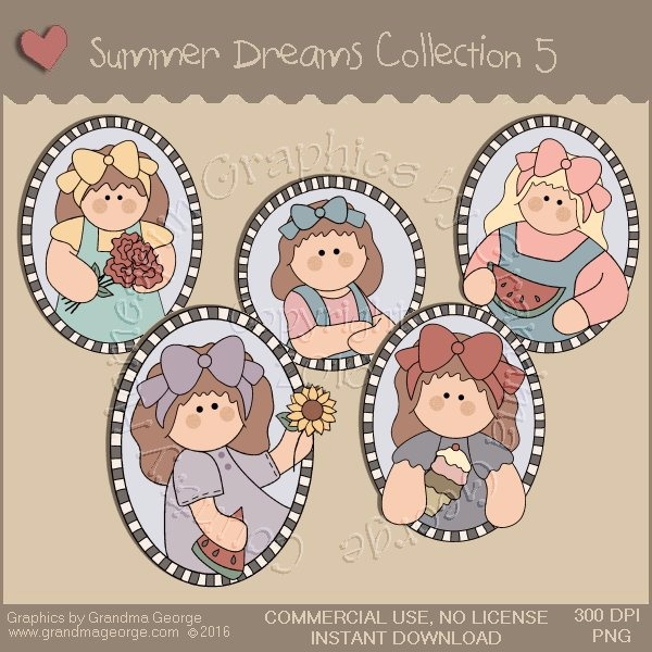 Summer Dreams Country Graphics Collection Vol. 5