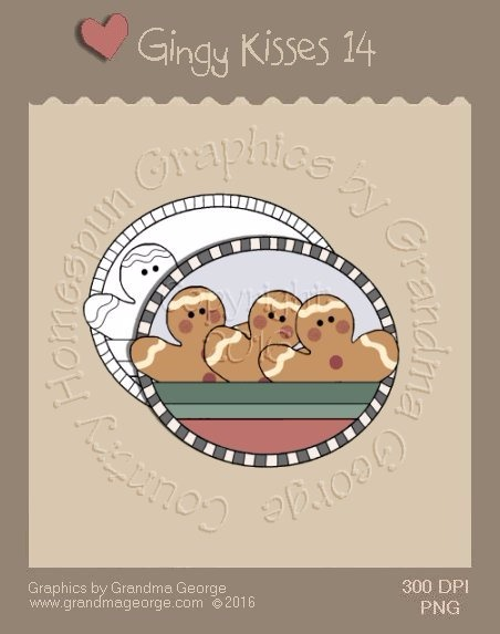 Gingy Kisses Single Country Graphic 14