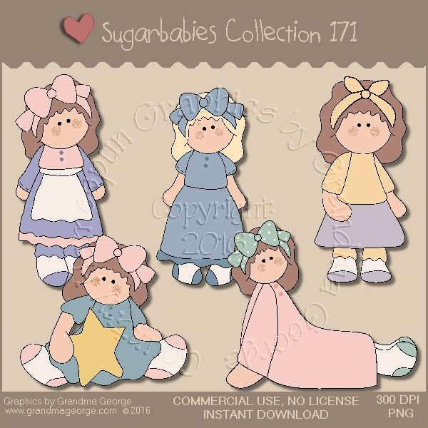 Sugarbabies Country Graphics Collection Vol. 171