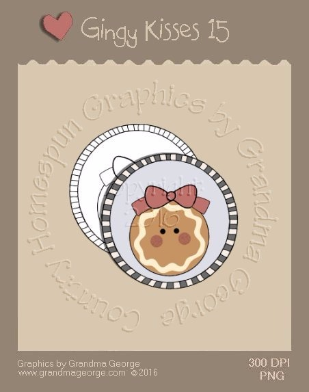 Gingy Kisses Single Country Graphic 15