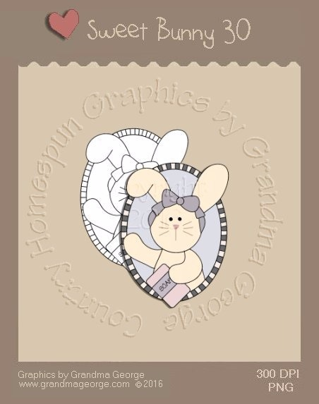 Sweet Bunny Single Country Graphic 30
