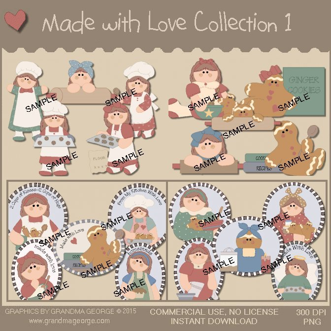 Made with Love Country Graphics Collection Vol. 1