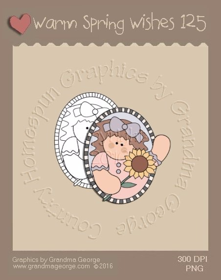 Warm Spring Wishes Single Country Graphic 125