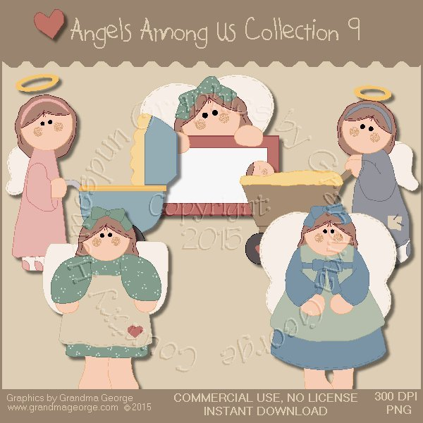 Angels Among Us Graphics Collection Vol. 9