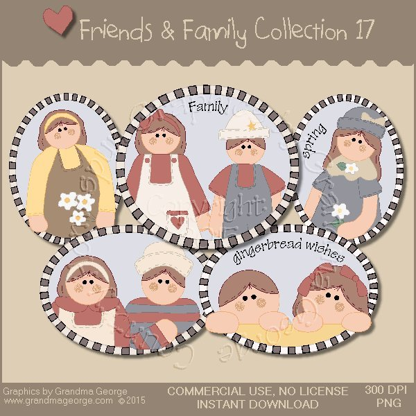Friends & Family Graphics Collection Vol. 17