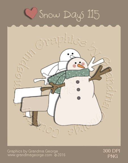 Snow Days Single Country Graphic 115