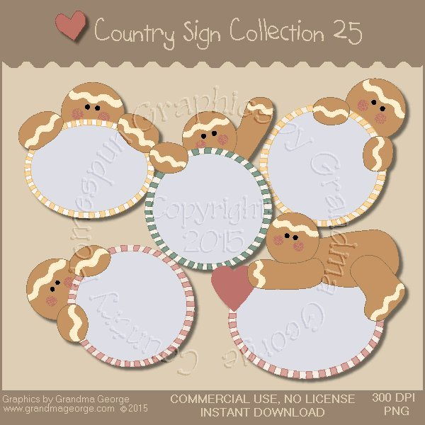 Country Sign Graphics Collection Vol. 25
