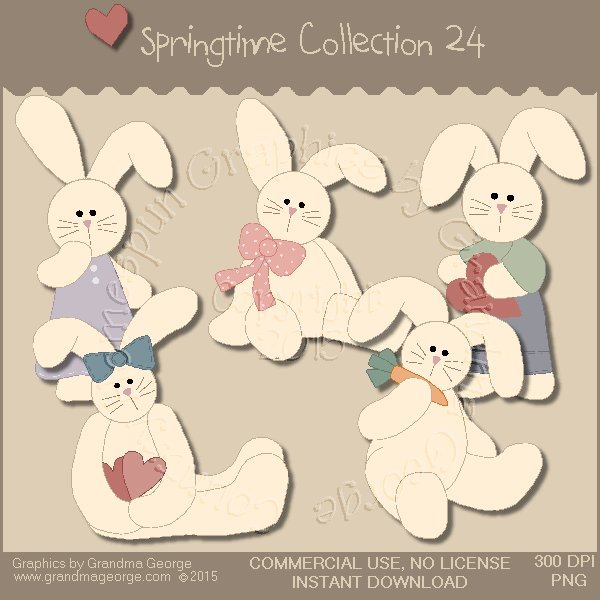 Country Springtime Graphics Collection Vol. 24